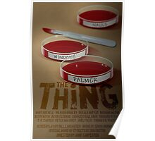 The Thing 1982 horror movie classic Poster