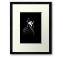 Sherlock Holmes portrait Framed Print