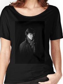 Sherlock Holmes portrait Women's Relaxed Fit T-Shirt