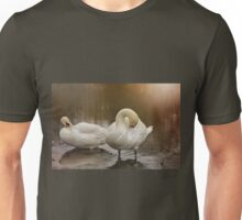At the water's edge. Unisex T-Shirt