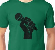 Microphone in hand Unisex T-Shirt