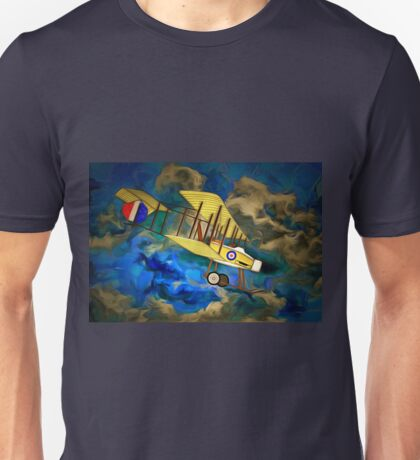 "A Royal Flying Corps Vickers ""Gunbus"" 1914 Unisex T-Shirt"