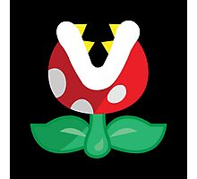 Piranha Plant! Photographic Print