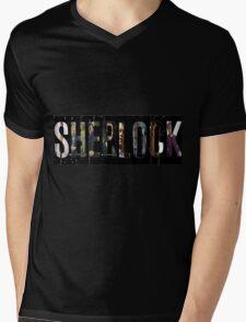 Sherlock Edit Mens V-Neck T-Shirt