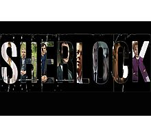 Sherlock Edit Photographic Print