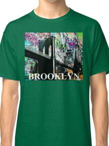 Brooklyn graffiti Classic T-Shirt