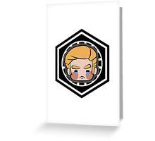 General Hux Greeting Card