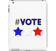 #Vote (Blue) iPad Case/Skin