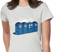 Port A Tardis Womens Fitted T-Shirt