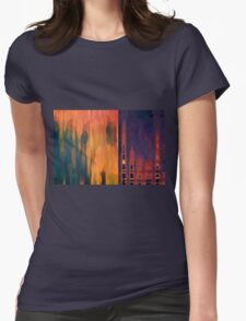 Color Abstraction LIV Womens Fitted T-Shirt