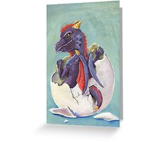 Dragon Hatchling Greeting Card