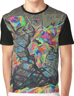 world map abstract Graphic T-Shirt