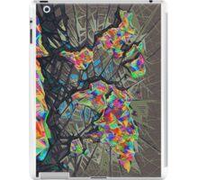 world map abstract iPad Case/Skin