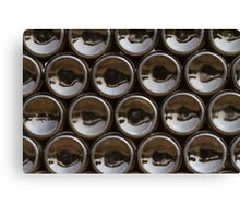 Wine bottles bottoms Canvas Print