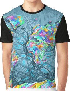 world map abstract 2 Graphic T-Shirt