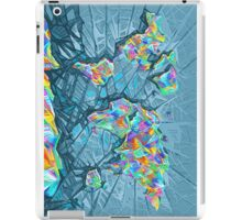 world map abstract 2 iPad Case/Skin