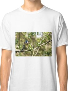Blue Tit with nesting material 4. Classic T-Shirt