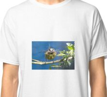 Blue Tit with nesting material 1. Classic T-Shirt