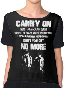 SUPERNATURAL - Carry on my wayward son Chiffon Top