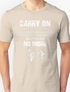 SUPERNATURAL - Carry on my wayward son Unisex T-Shirt
