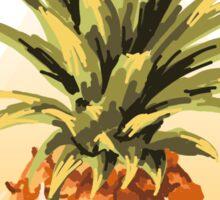 Three Points, Where Pineapples Meet. Sticker