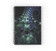 Sea Monster Mobius Fractal Spiral Notebook