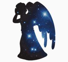 Weeping Angel Galaxy Kids Tee