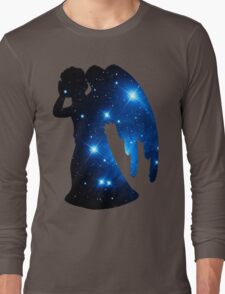 Weeping Angel Galaxy Long Sleeve T-Shirt