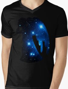 Weeping Angel Galaxy Mens V-Neck T-Shirt