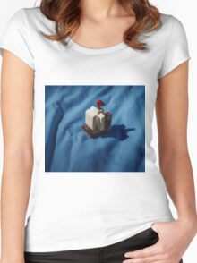 Lego boat Women's Fitted Scoop T-Shirt