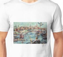 "Artwork ""Feeding a Seagull"" Unisex T-Shirt"