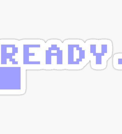 Commodore 64 prompt Sticker