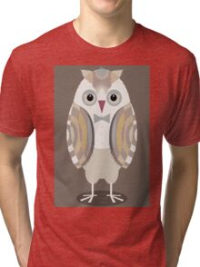 WHO WEARS A BOW TIE Tri-blend T-Shirt