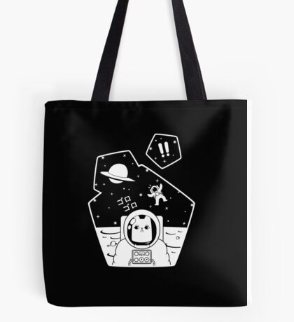 Christobelle Purrlumbus: Oblivious Explorer of Space Tote Bag