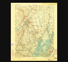 USGS TOPO Map New Jersey NJ Paterson 255310 1888 62500 Unisex T-Shirt
