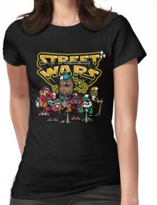 Street Wars Womens Fitted T-Shirt