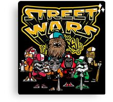 Street Wars Canvas Print