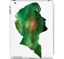 Green galaxy Tenth Doctor iPad Case/Skin