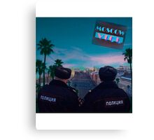 Moscow Vice Canvas Print
