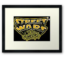 Street War Awakens Framed Print