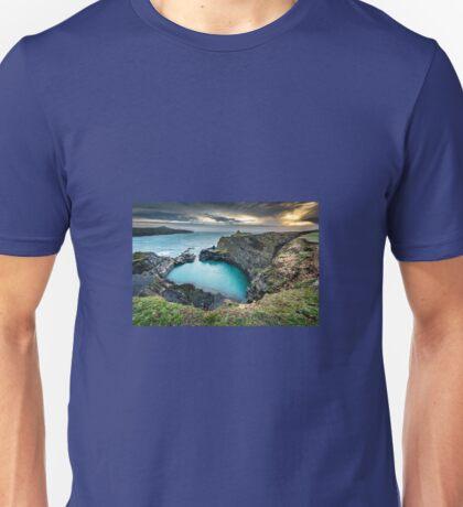 The Blue Lagoon...Abereiddy, Wales UK Unisex T-Shirt