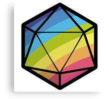 Inclusive RPG Gaming! Canvas Print