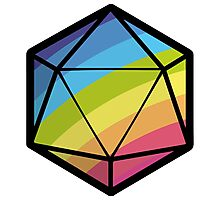 Inclusive RPG Gaming! Photographic Print