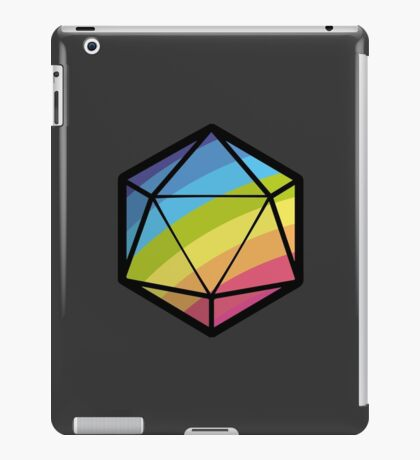 Inclusive RPG Gaming! iPad Case/Skin