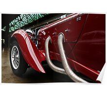 Lagonda 1936,  Lagonda LG 45 Rapide Poster