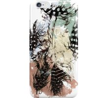 Pastel feathers. iPhone Case/Skin