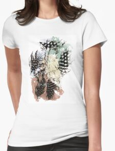 Pastel feathers. T-Shirt
