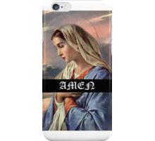 AMEN MARIA iPhone Case/Skin