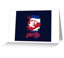 "Ernesto Che Guevara - ""Libertad"" Greeting Card"