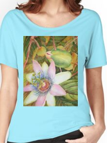 Passion Flower Women's Relaxed Fit T-Shirt